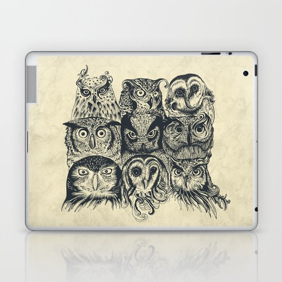 Nine Owls Laptop & iPad Skin