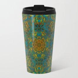 Magic 1 mandala #mandala #magic Travel Mug
