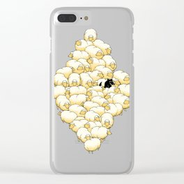 Find The Spy Clear iPhone Case