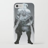 skyrim iPhone & iPod Cases featuring Skyrim by Ioana Muresan