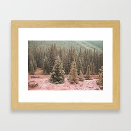 Look For Me In The Trees Framed Art Print