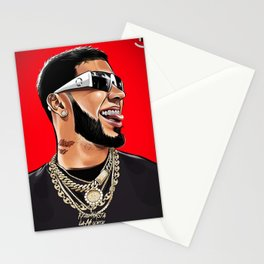 Anuel aa Stationery Cards