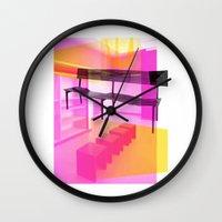 bauhaus Wall Clocks featuring Bauhaus by mJdesign