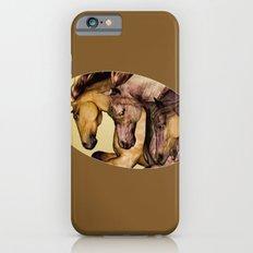 HORSES-Gunmetal Slim Case iPhone 6s