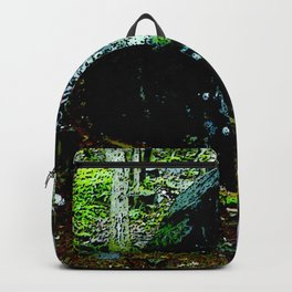The alien Ghost of Graffiti Rock Backpack
