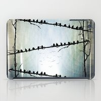 helen iPad Cases featuring Barricade by Viviana Gonzalez