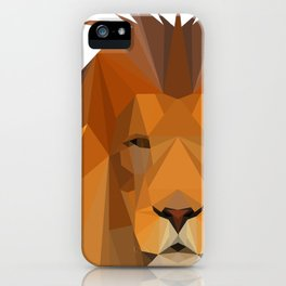 Neccio Lion Shirt iPhone Case
