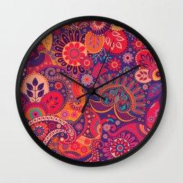 Shabby flowers #24 Wall Clock
