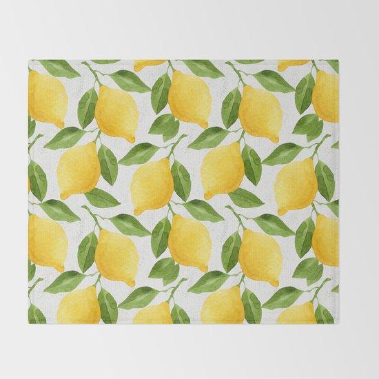 Watercolor Lemons by helgawigandt