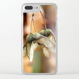 ...cause and effect... Clear iPhone Case