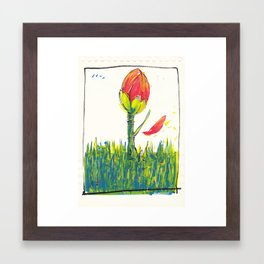 School Framed Art Print