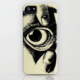 Vintage Anatomy The Conjunctiva of the Eye iPhone Case