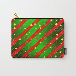 Holiday Season Stars and Stripes  Carry-All Pouch