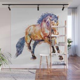 Running Horse Wall Mural