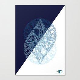 A drop of creativity 7 Canvas Print