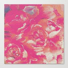flower peone Canvas Print