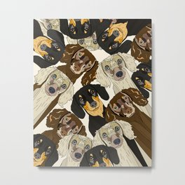 Doxie Nation Metal Print