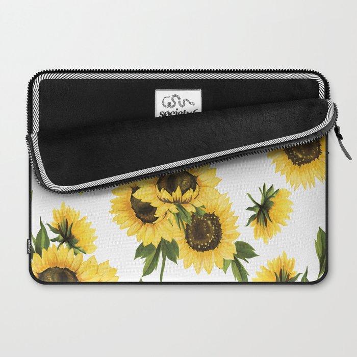 Lovely Sunflower Laptop Sleeve