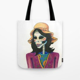 Dia de los Muertos - La Niña Fresa Tote Bag