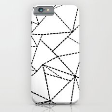 Abstract Dotted Lines Black and White Slim Case iPhone 6s