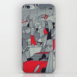 Porsche Racing iPhone Skin