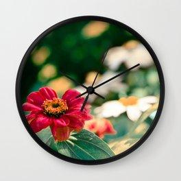 Flowerchild - Flowers in Edmonton, AB Wall Clock