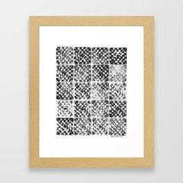 Crochet Impressions: GRANNY Framed Art Print