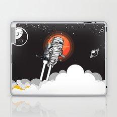 Mummy on Space Journey Laptop & iPad Skin