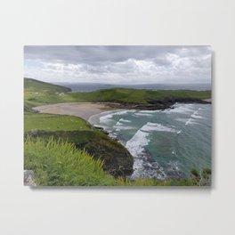 Irish Beach: Cionn Mhucrois: Muchros Head Metal Print