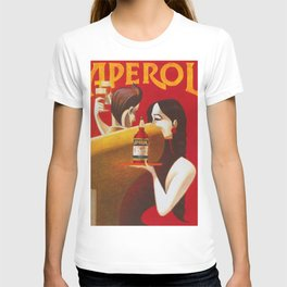 Aperol Alcohol Aperitif Spritz Vintage Advertising Poster T-shirt