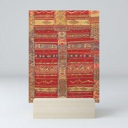 Heritage Moroccan Berber Artwork Design  Mini Art Print