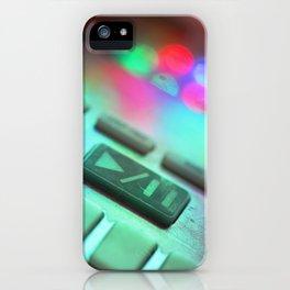 Dr.zerK artwork KORG ELECTRIEBE fun 2 iPhone Case