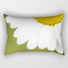 Beautiful Daisy Natural Green Background #decor #society6 #buyart Rectangular Pillow