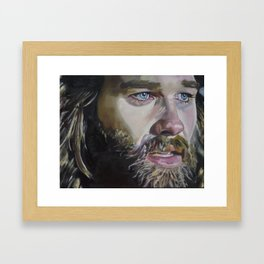 Kurt Russell Framed Art Print
