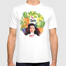 FROOT White MEDIUM Mens Fitted Tee