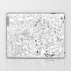 Fragments of memory Laptop & iPad Skin