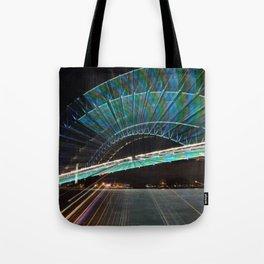 Vivid Light show Tote Bag