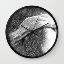 Just a towel Wall Clock