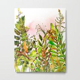 Woodland Meadow 1 Metal Print