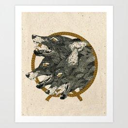 Hand that Feeds. Art Print