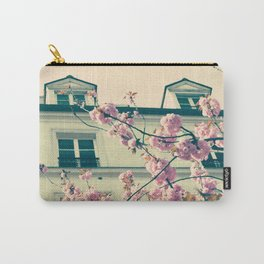 Paris Spring Carry-All Pouch