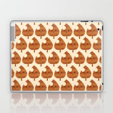 raccoon leaf pattern Laptop & iPad Skin