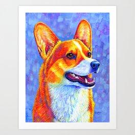 Mischief Maker - Pembroke Welsh Corgi Dog Art Print