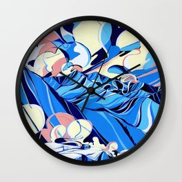 Baldface Out Back Wall Clock