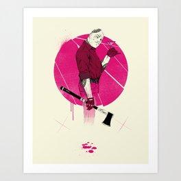 Mr Spiv Art Print