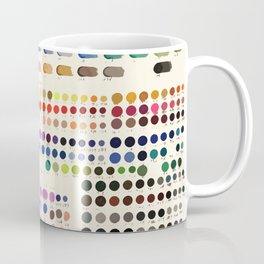 Artist Color Swatches - watercolor, prisma, paints Coffee Mug