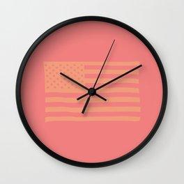 American Flag Providence  Wall Clock