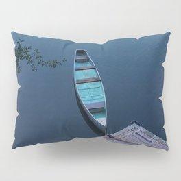 Blue Canoe Pillow Sham