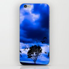 Blue Fantasy iPhone & iPod Skin