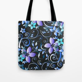 Flowers wall paper 7 Tote Bag